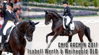 Isabell Werth | Weihegold OLD |CDIO5* Grand Prix|CHIO Aachen 2017