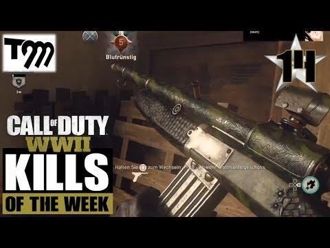 Call of Duty WW2 - TOP 10 KILLS OF THE WEEK #14