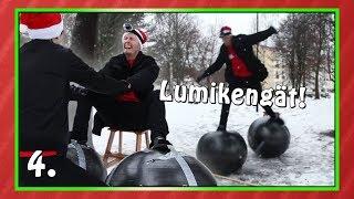 LUMIKENGÄT! | Haastekalenteri 2017 Luukku 4
