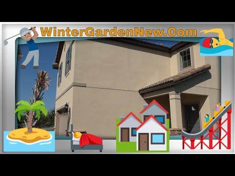 Kissimmee New Homes For Sale, Windsor at Westside, Resort Vacation Windstone Model, Tour, Pulte