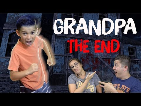 WE ESCAPED GRANDPA!! (New Car Update + Creepy Cemetery In His Backyard) Grandpa Ending