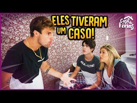 ELES TIVERAM UM CASO!! - CASA DE FÉRIAS #44 [ REZENDE EVIL ]