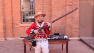 Loading and firing the Flintlock musket
