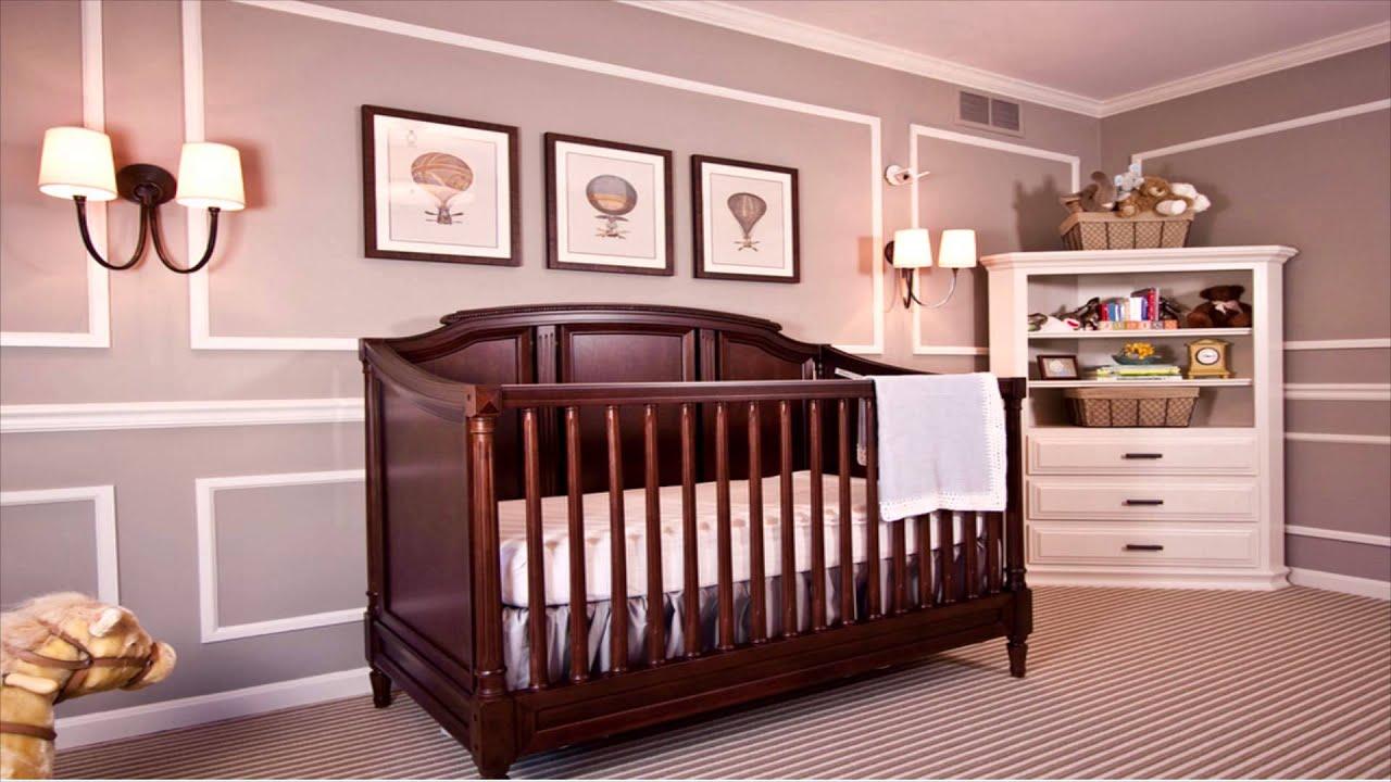 Cunas Para Bebés Habitaciones De Bebe Ideas De Decoración Cuarto De Bebés Youtube