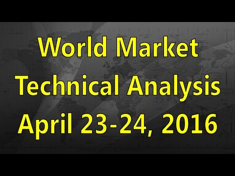 World Market Technical Analysis April 23-24/2016