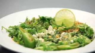 Esquites - салат из кукурузы. Мексиканская кухня