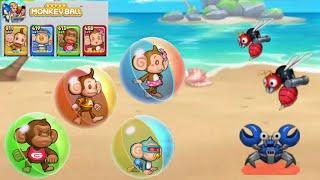 Super Monkey Balls || SEGA Heroes || (Android,ios) Gameplay - Walkthrough
