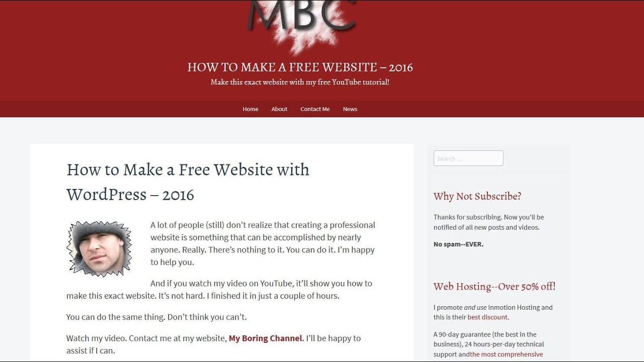 how to make a website  how to make a website 2016