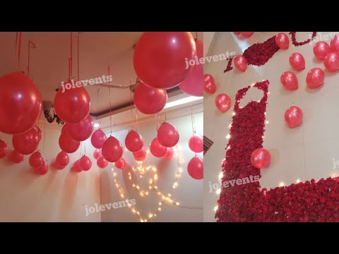 Best Birthday Surprise Decoration At Cafe For Girlfriend Youtube