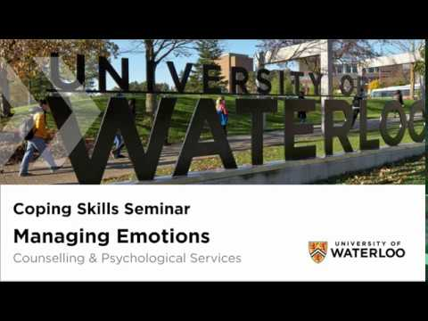 Coping Skills Seminar - Managing emotions