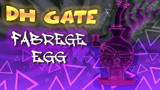 Mothership Glass Fabrege Egg (w/ Seed of Life Perc) DH Gate Clone HUGE Dab Milking Function Review