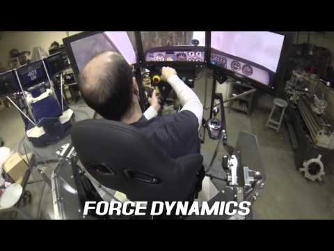 Force Dynamics 401cr flight simulator + X-Plane 10