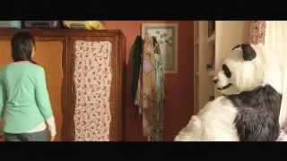 الباندا مستخبي في الحمام - مشهد محذوف من فيلم