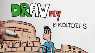 Draw My Kiköltözés Rómába | IHNIH