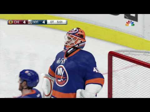 NHL 17 STANLEY CUP WINNER IN 2OT! (GOAL AND CELEBRATION)