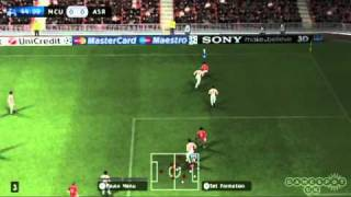 PES 2011 gameplay video 1 (Wii)