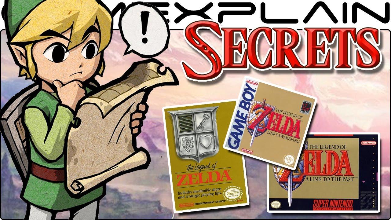 Secrets of Zelda: Breath of the Wild\'s Map Locations (Zelda NES ...