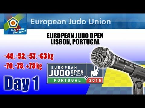 European Judo Open 2015 - Lisbon (POR) - Final Block