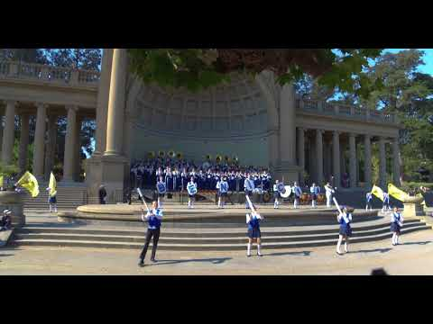 Castell Coch — Benicia High School Panther Band at Fleet Week Band Challenge 2017