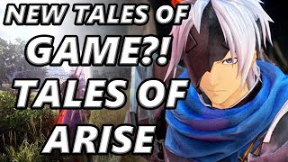 New Tales of game?! Tales of Arise PS4 Xbox One PC