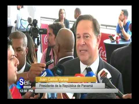 SERTV Presidente Juan Carlos Varela habla sobre la relación con Venezuela