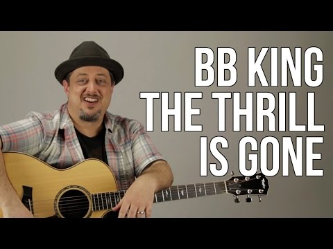 How To Play BB King - The Thrill Is Gone