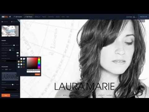 Musician Website Theme: Eclipse Mp3