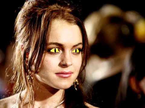 Lindsay Lohan's Thriller Eyes!!!