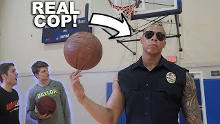 Yes...he is a REAL LAPD Officer! CRAZY ending on this battle! It wa...