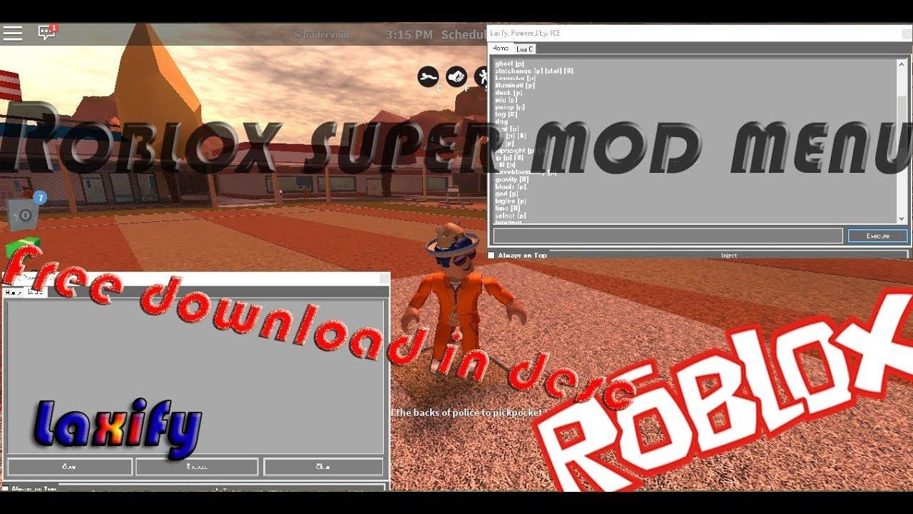 Roblox Jailbreak Mod Menu Free Download Youtube