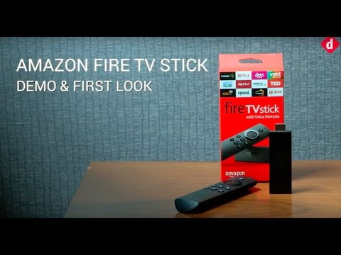 Amazon Fire TV Stick: Demo and First Look | Digit.in