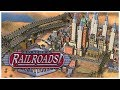 Sid Meier's Railroads! - GOLD! - Let's Play / Gameplay / Beverage