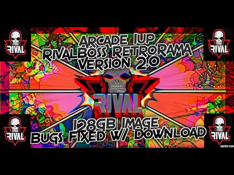 Arcade 1up RivalBoss RetroRama Version 2.0 128GB PI Image & PS5 X box Series X discuss from Rival Boss