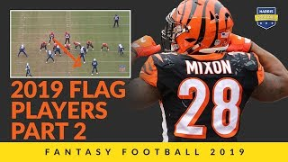 2019 Flag Players Part 2: Best Fantasy Football Draft Value