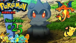 POKEMON in Roblox Ch.#24, Beating 7th Gym! 1st time playing PC(Max Graphics) #25th Stream