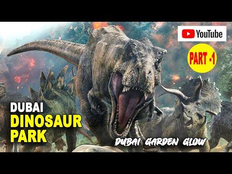 Dinosaur Park Dubai | Dubai garden glow 2019 | Part 1