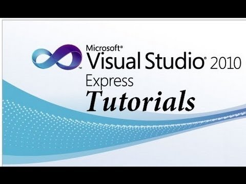Visual basic 2010 express tutorial 1 making your first program.