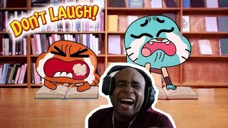 Try Not To Laugh Challenge The Best Of The Amazing World Of Gumball #8 1/2
