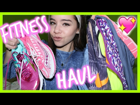 fitness/athletic-clothing-&-running-shoe-haul!