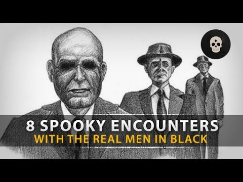 8 Spooky Encounters with the REAL Men in Black