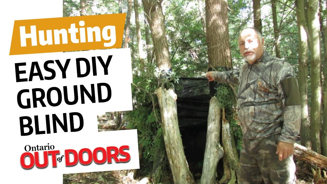 blinds tuning hunting ground turkeys fine turkey tips watch blind bow for your setup