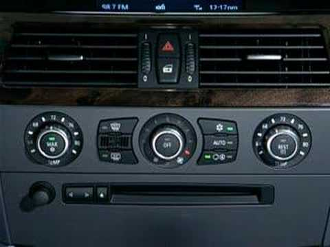 BMW 5 Series Climate Controls