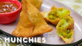 How To Make Samosas with Chintan Pandya