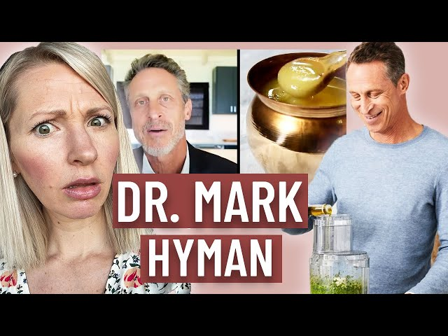 Dietitian Reacts to Dr Mark Hyman What I Eat in a Day (OMG STOP!)