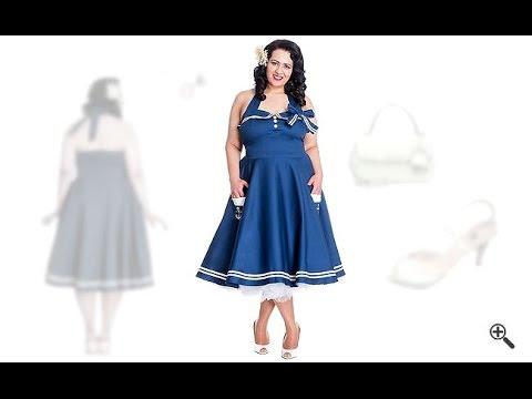 Rockabilly Kleider Grosse Grossen 50er Outfits Fur Corina Youtube