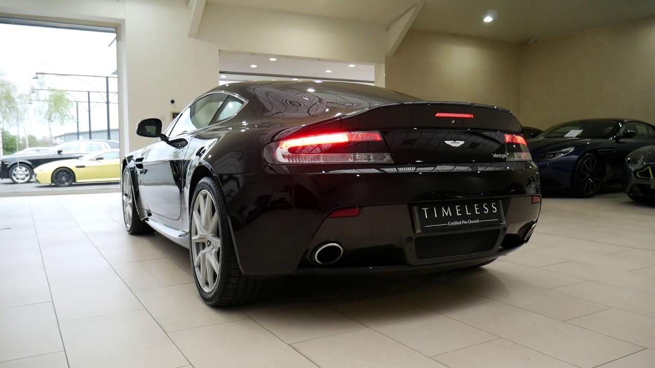 Aston Martin Vantage V8 Cold Start Loud Exhaust In Depth Interior And Exterior Walkaround Youtube