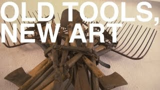 Old Tools, New Art   The Garden Home Challenge With P. Allen Smith
