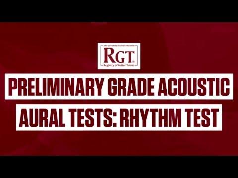 Guitar Lesson: RGT Preliminary Grade Acoustic Guitar part 3