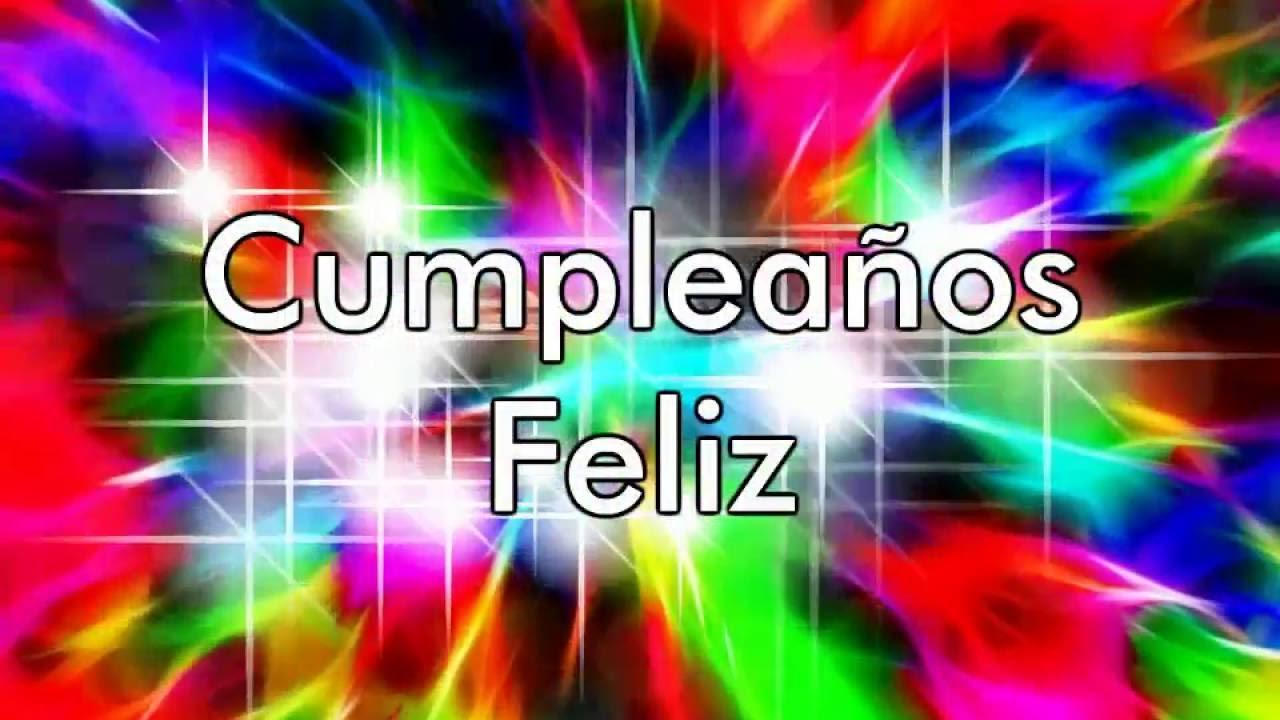 Feliz Cumpleaños Colores - YouTube