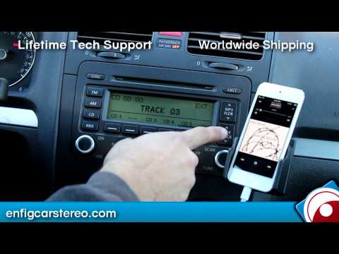 06-09 GTI Jetta R32 AUX iPod iPhone Dension GW1LVW1 or GW1LVWT